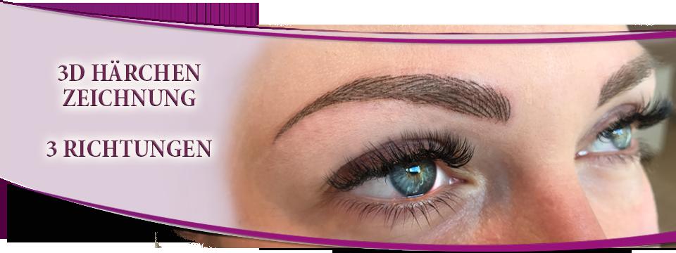 Augenbrauen Permanent Make Up In Feiner 3d Härchenzeichnung