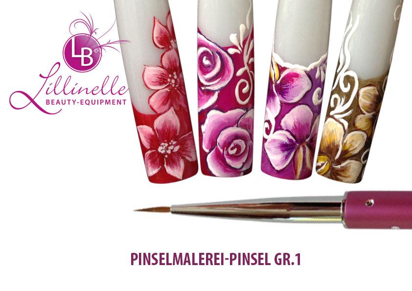 Nail Art Pinsel fr Malerei  Gr 1