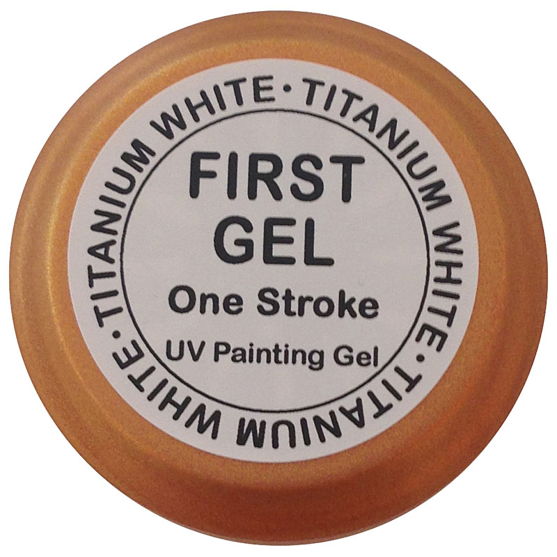 UV Painting Gel Titanium White 5 ml