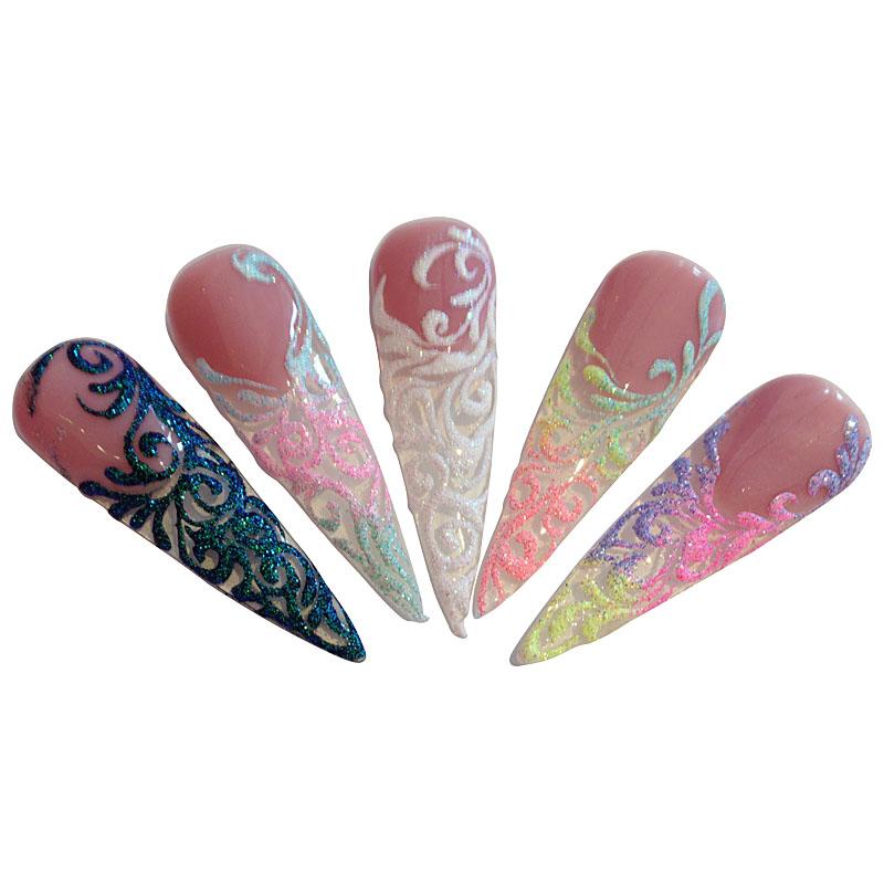 Nail Art GlitterSet NEON