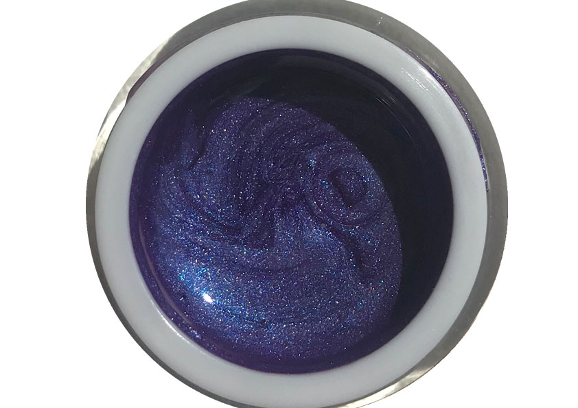 Farbgel Metallic Purple