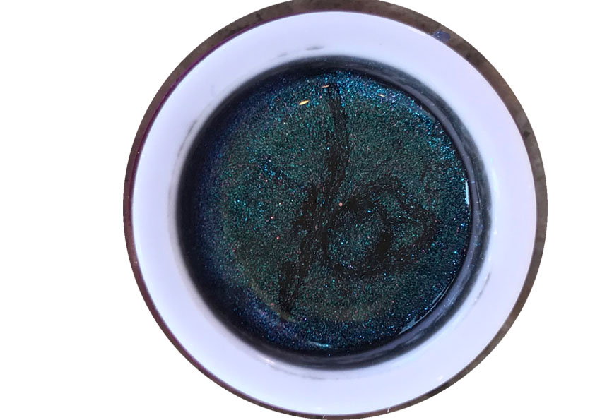 Glittergel Flip Flop Blue Shopartikel