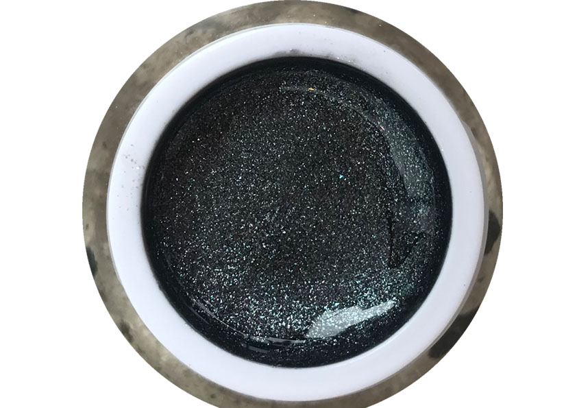Glittergel Pearly Black