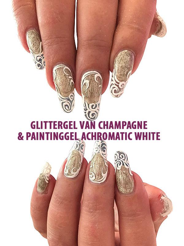 Glittergel Van Champagne