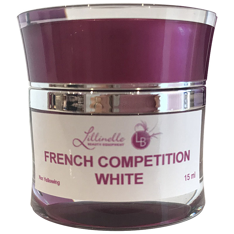 French Gel Competition White