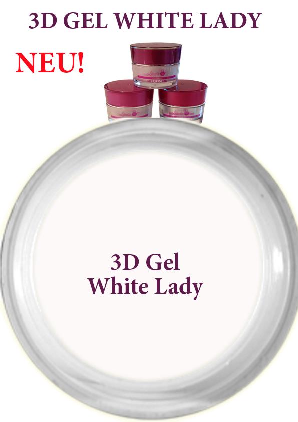 3D Gel White Lady