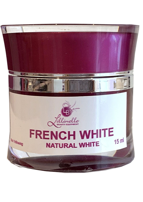 French Gel Natural White natrliches Wei