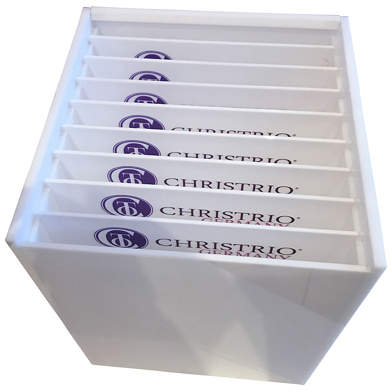 Acrylunterlagen Aufbewahrungsbox