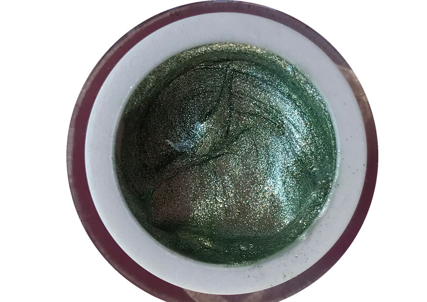 Glittergel Van Light Green 5 ml Shopartikel