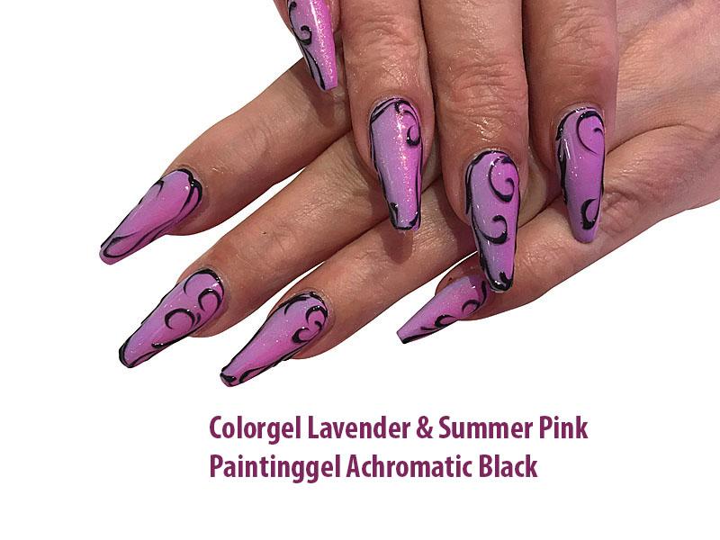 Farbgel Lavender