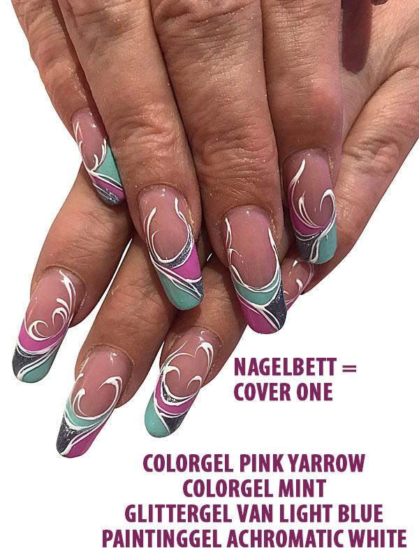 Farbgel Pink Yarrow