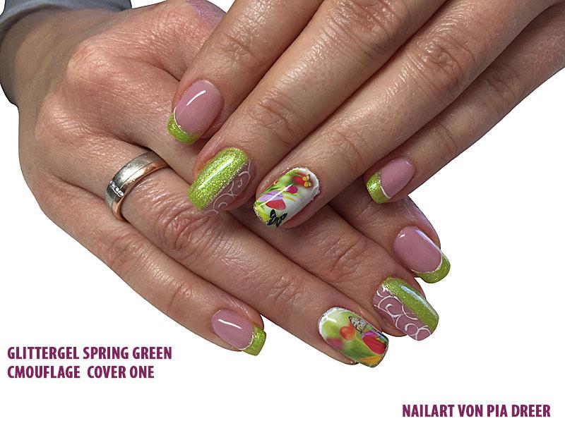 Glittergel Spring Green