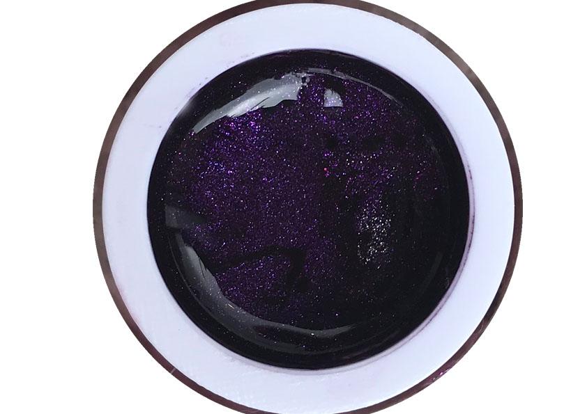Glittergel Silky Violett Shopartikel