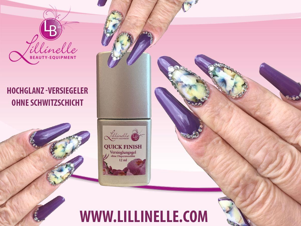 Versiegelungsgel Quick Finish von Lillinelle