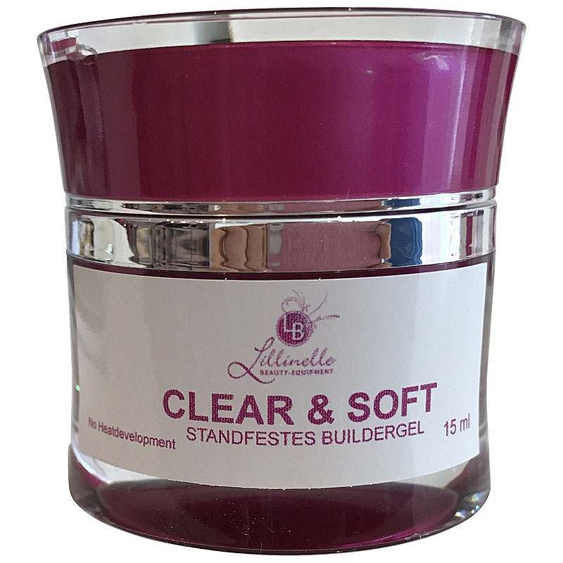 Aufbaugel Clear  Soft 15 ml Shopartikel