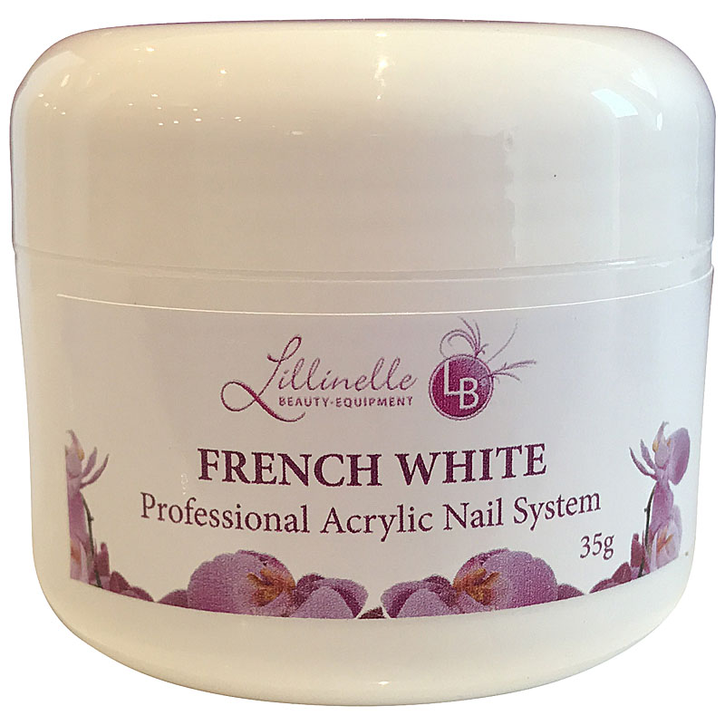 Acrylic French White Powder 35 g Shopartikel