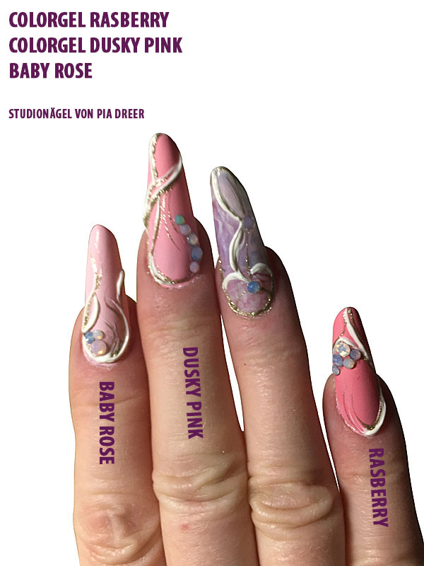 Farbgel Dusky Pink