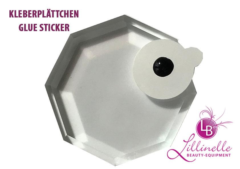 Glue Sticker Kleberplttchen