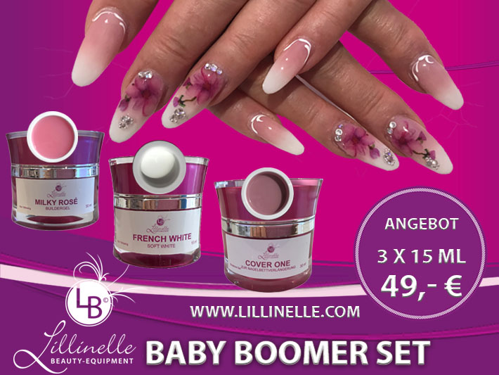 Baby Boomer Set Shopartikel