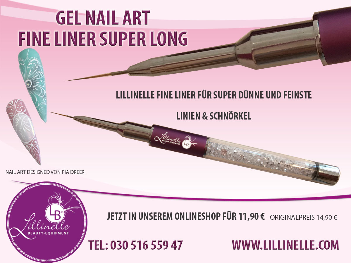 Gel Nail Art Fine Liner Long