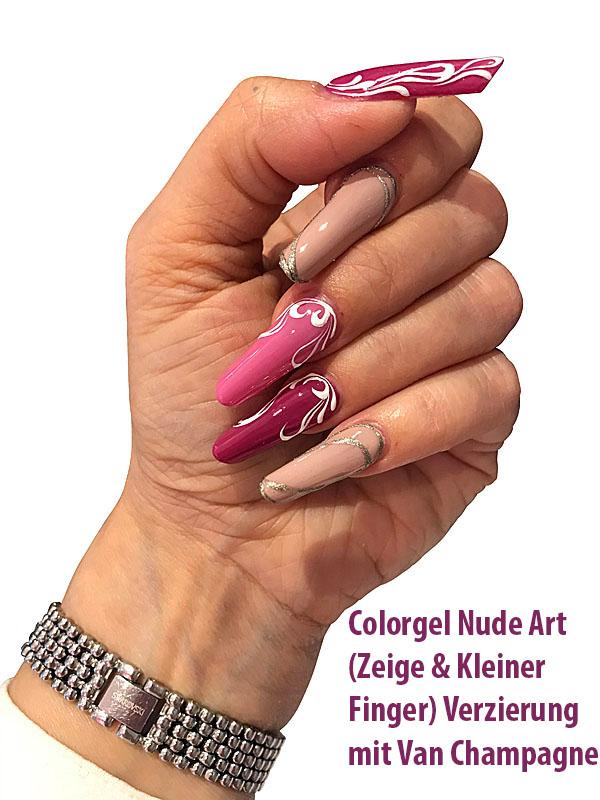 Farbgel Nude Art