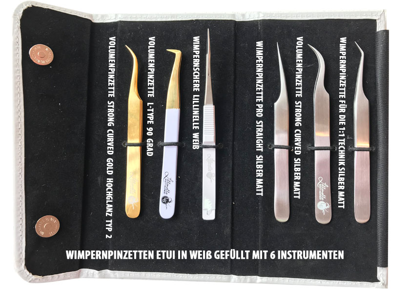 Angebot Wimpernpinzetten 6er Set