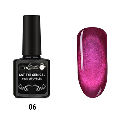 Cat Eye Gem Gel  06 in Red-Pink
