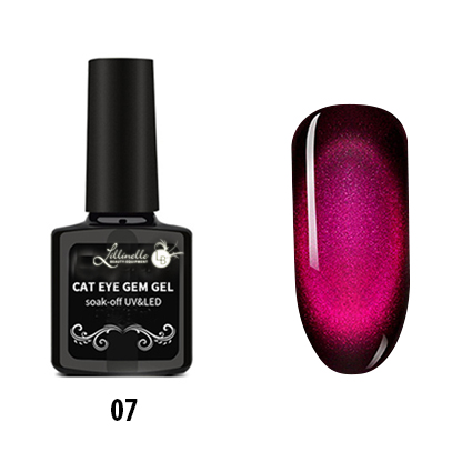 Cat Eye Gem Gel  07 in Purple  Pink