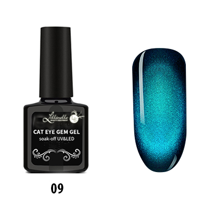 Cat Eye Gem Gel  09 in Blue