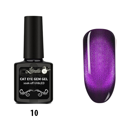 Cat Eye Gem Gel 10 in Purple