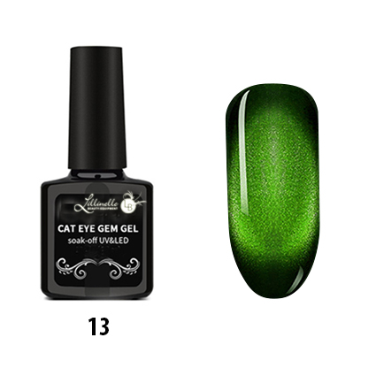 Cat Eye Gem Gel 13 in Green Shopartikel
