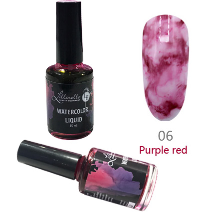Watercolor Liquid 15 ml Purple Red