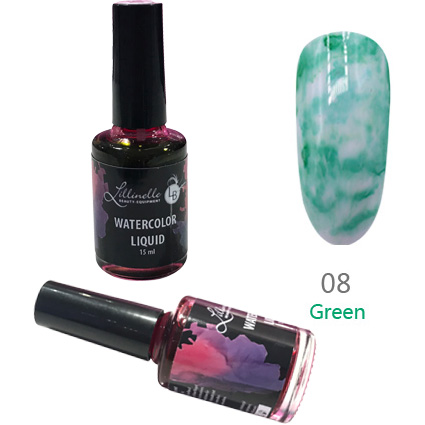 Watercolor Liquid 15 ml Green Shopartikel
