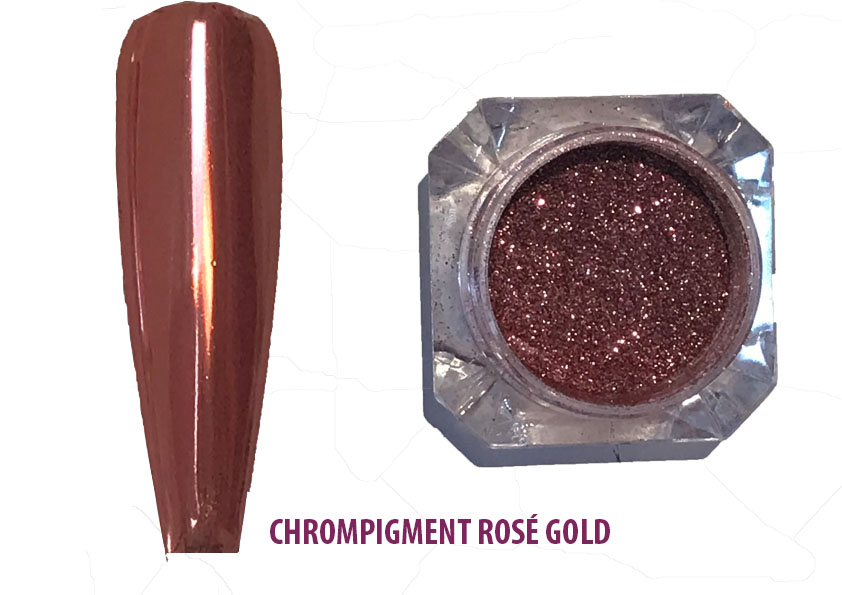 Chrome Pigment Rose Gold