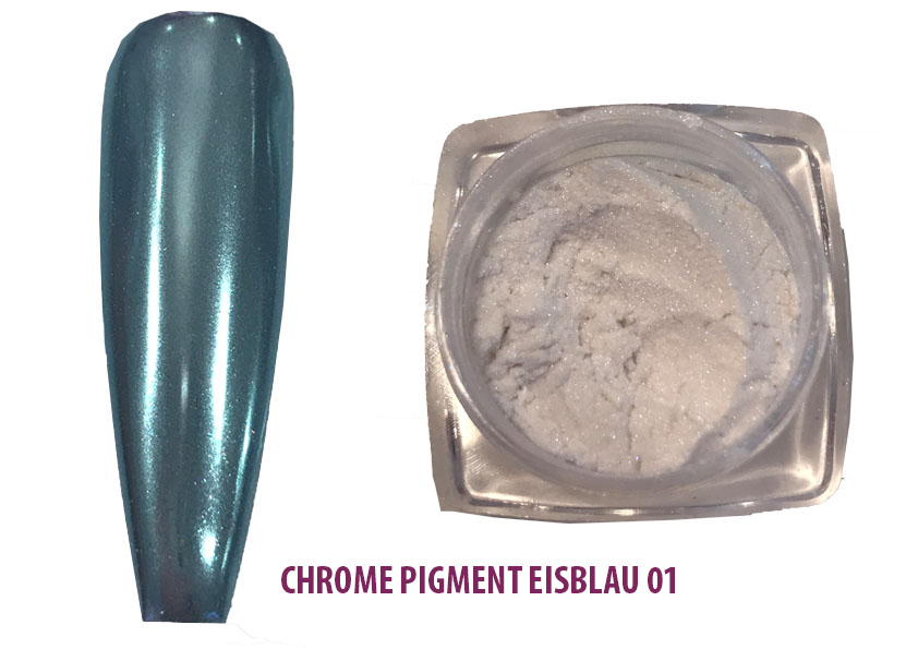 Chrome Pigment Eisblau 01