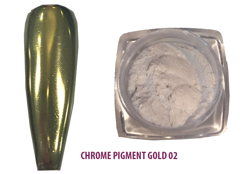 Chrome Pigment Gold 02 Shopartikel