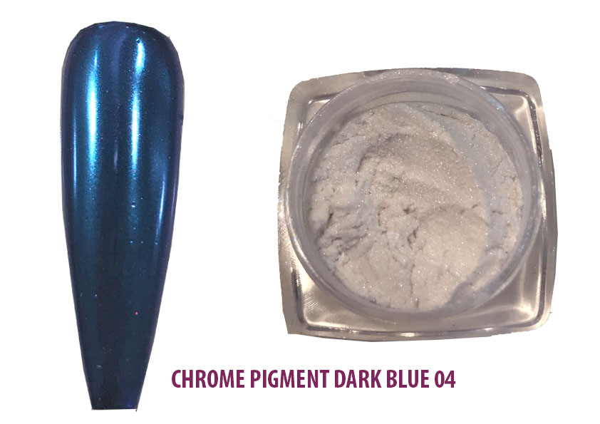 Chrome Pigment Dark Blue 05