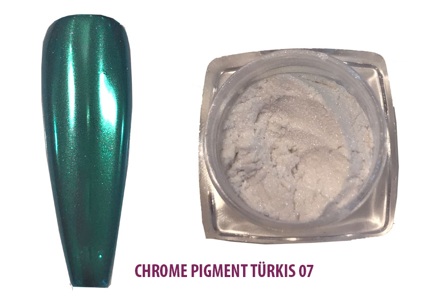 Chrome Pigment Trkis 07 Shopartikel