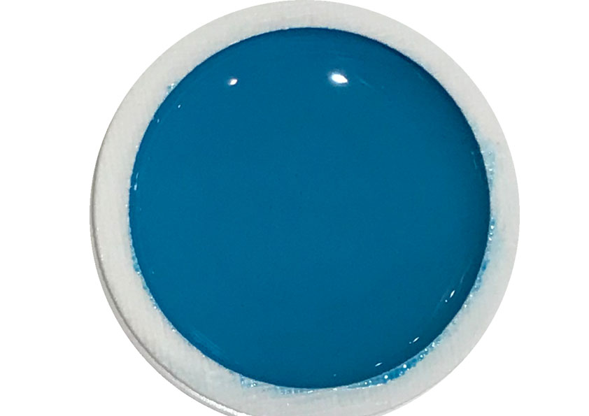 Farbgel Blue Laguna Shopartikel