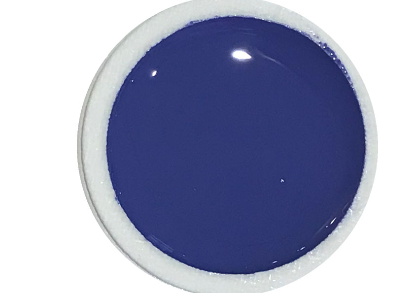 Farbgel Blue Purple Heart