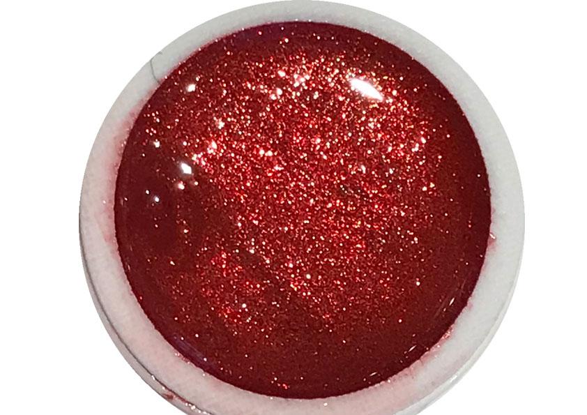 Glittergel Glamorous Red Shopartikel