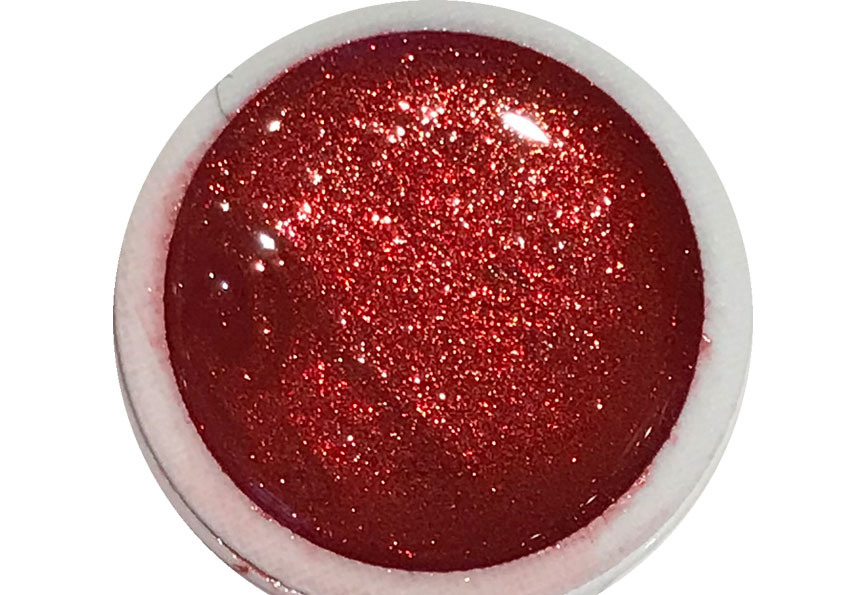 Glittergel Glamorous Red