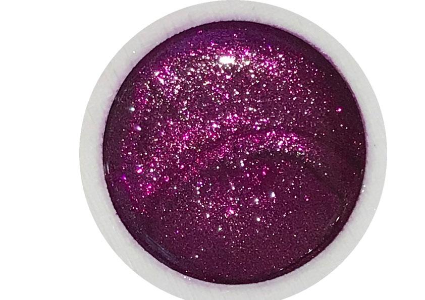 Glittergel Fuchsia Galaxy Shopartikel