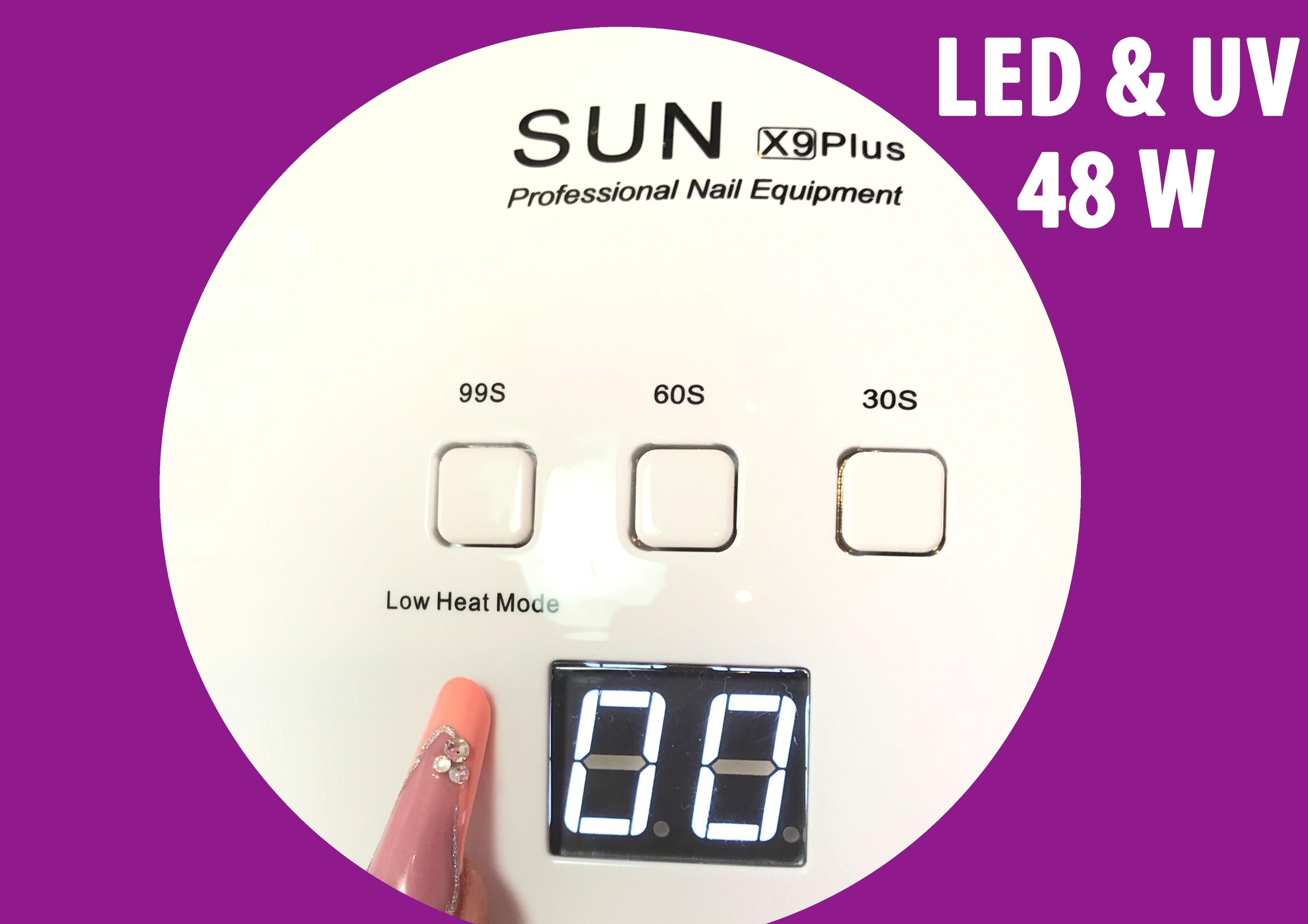 LED UV  Profi Kombi Lichthrtungsgert 48 W