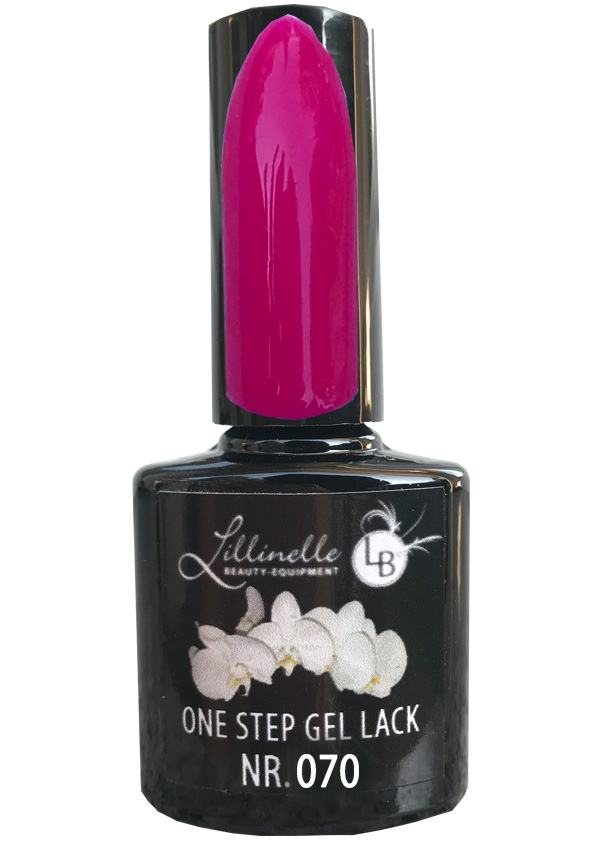 One Step Gel Lack  Nr 070 Pink Shopartikel