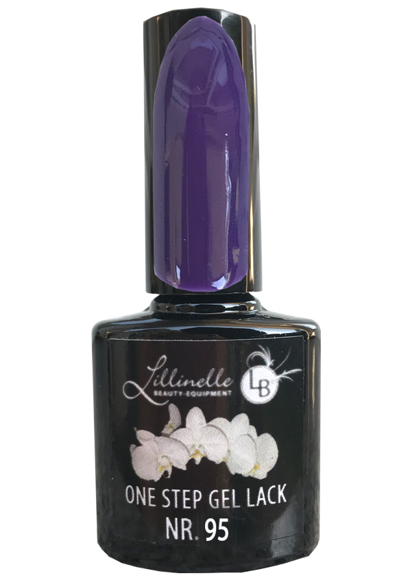 One Step Gel Lack  Nr 095 Dark Purple Shopartikel