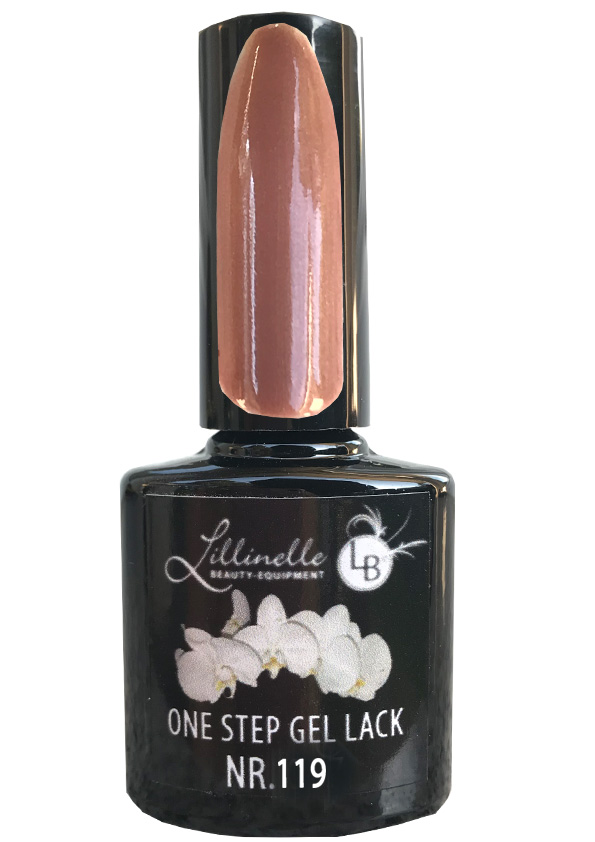 One Step Gel Lack  Nr 112 Nude Beige