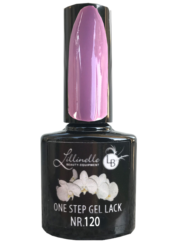 One Step Gel Lack  Nr 120 Alt Ros Dark Shopartikel