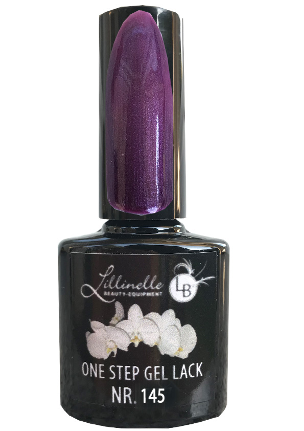 One Step Gel Lack  Nr 145 Purple Shine Shopartikel