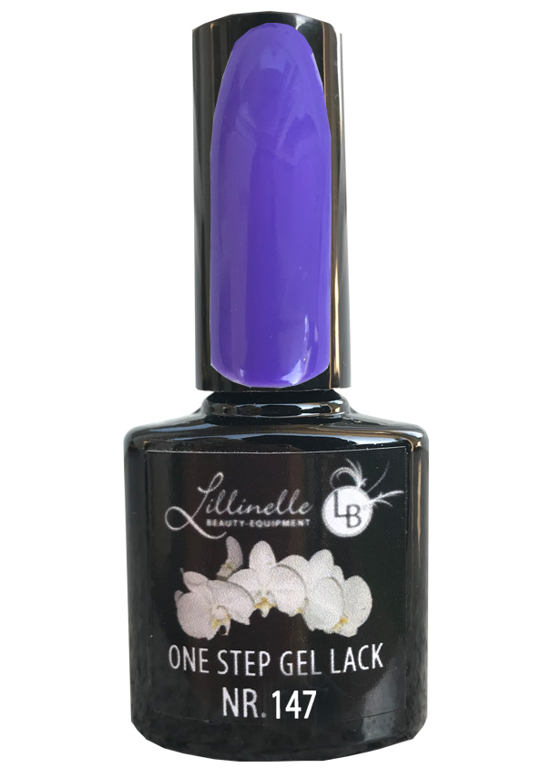 One Step Gel Lack  Nr 147 Lilac Shopartikel